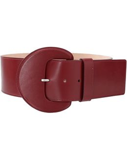 Leather Covered Belt