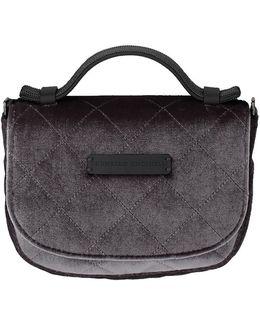 Mini Velvet Crossbody Bag
