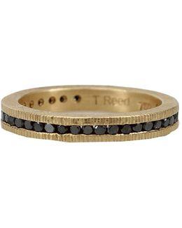 Channel Set Black Diamond Eternity Ring
