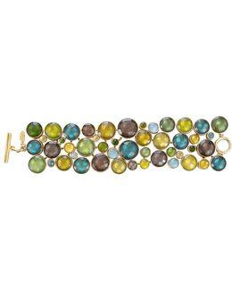Multi-stone Circle Bracelet
