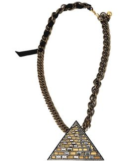 Luxor Pyramid Necklace