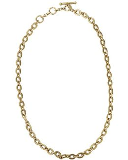 Tiny Circle Chain Necklace