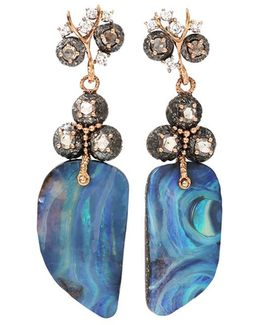 Afrodite Earrings With Boulder Opal