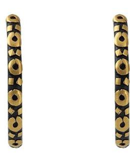Medium Libra Hoop Earrings