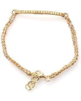 Kaleidoscope Bracelet With Sapphire Pave