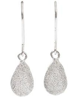 Looking Glass Pear Drop Earrings