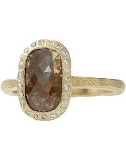 Fancy Cut Red Diamond Ring