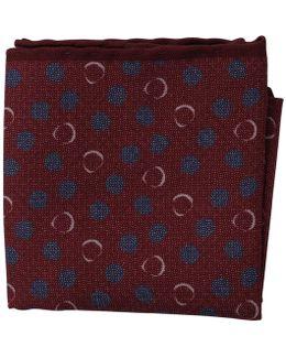Abstract Dot Pocket Square