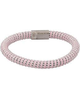 Pink Twister Band Bracelet