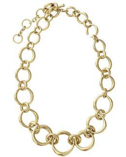 Chunky Oval Link Necklace
