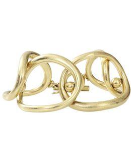 Overlap Oval Ring Bracelet