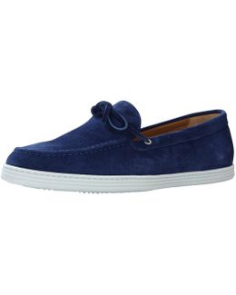 Le Coureur Suede Loafers