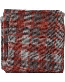 Country Plaid Pocket Square