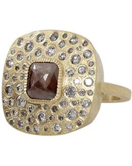 Brown Fancy Diamond Ring
