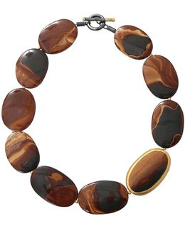 Tiger Eye Agate Necklace