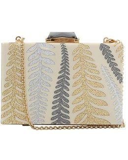 Lyon Taylor Leaf Clutch Bag