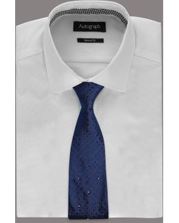 Pure Silk Tie With Swarovski® Elements