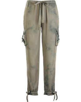 Kassidy Ankle Pant - Tie Dye