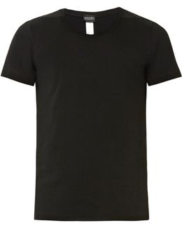 Crew-neck Stretch-cotton Jersey T-shirt