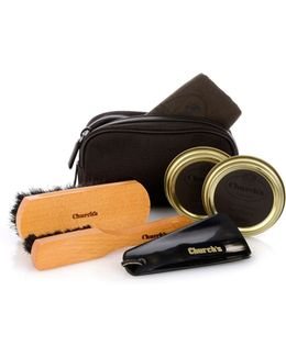 Travel Leather Shoe-care Kit