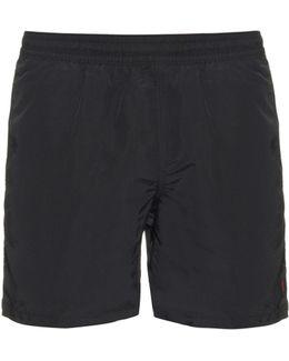 """Hawaiian-Fit 5"""" Swim Shorts"""