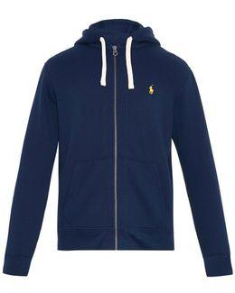 Zip-up Hooded Sweatshirt