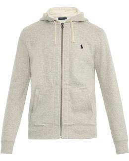 Zip-through Hooded Sweatshirt
