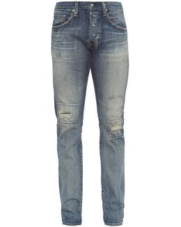 The Matchbox Mid-rise Relaxed-fit Jeans