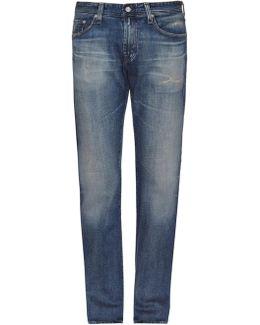 The Matchbox Mid-rise Slim-fit Jeans