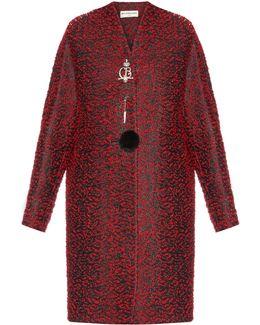 Chintz Tweed Wool-blend Coat