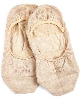 Step Cotton-blend Liner Socks