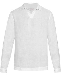 Ridley Long-sleeved Linen Shirt