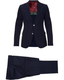 Monaco Seersucker-silk Suit