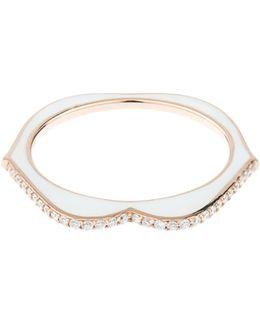 Omg! Diamond, Enamel & Pink-gold Ring