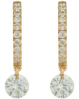 Set Free Diamond & Rose-gold Earrings