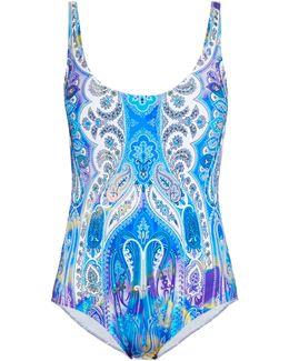 Paisley-print Swimsuit