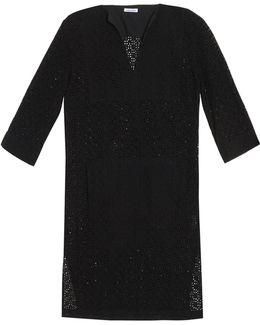 Eyelet-cotton Tunic Dress