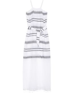 Addis Multi-stripe Cover-up