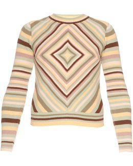 Native Couture 1975-print Crew-neck Sweater