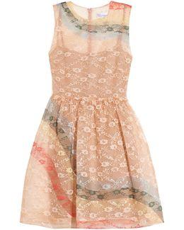 Rainbow Lace Sleeveless Dress