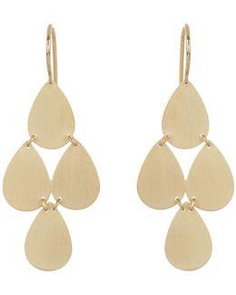 Yellow-gold Chandelier Earrings
