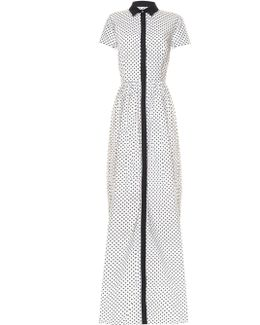 Daisy Polka-dot Print Gown