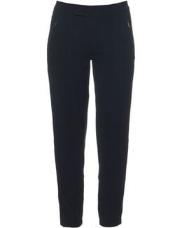 Low-rise Crepe Trousers