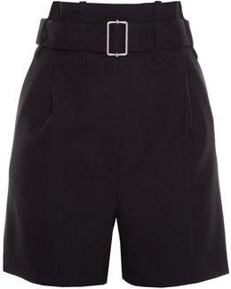 Paperbag-waist Shorts