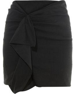Quena Ruffle-trimmed Mini Skirt