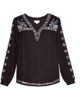 Chantel Embroidered Blouse