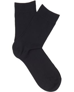 Touch Cotton-blend Socks
