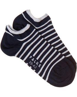 Striped Trainer Socks