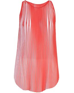 Sloane Pleated Crepe Top