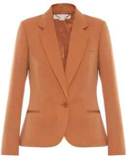 Merielle Single-breasted Wool Jacket